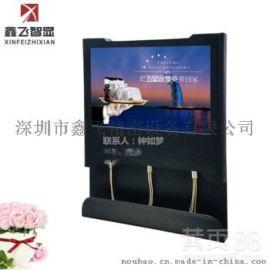 鑫飞新款楼宇超薄液晶高清LED壁挂广告机网络播