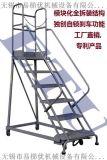 登高梯 庫房取貨梯 超市登高梯 移動式梯子倉儲登高車
