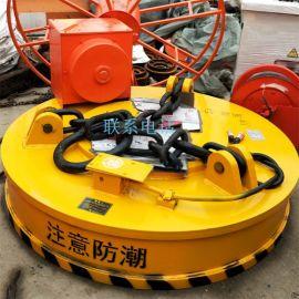 供应销售 吸取废钢铁 直径120强力电磁吸盘