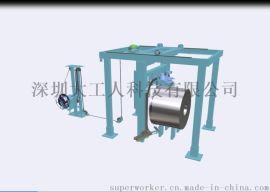 深圳大工人 圆周式卷材打包 全自动钢带打捆机