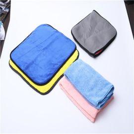加厚洗車毛巾吸水擦車布玻璃抹布工具汽車玻璃用品汽車清潔毛巾