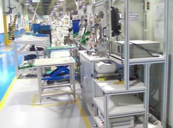 汽車玻璃升降器生產線