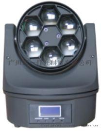 LED6眼蜜蜂灯 蜂眼染色光束灯 电脑光束摇头灯