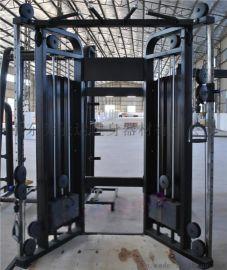 健身房力量训练器A双臂机训练器A健身器材厂家