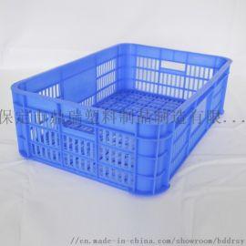 厂家塑料周转筐批发生鲜水果蔬菜周转筐子 塑料