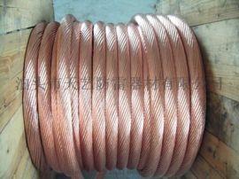 镀铜绞线  铜包钢扁线