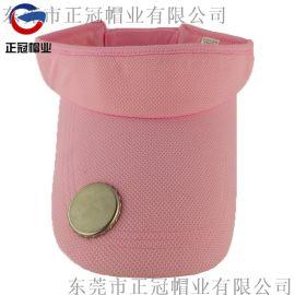 厂家定制户外遮阳防晒加长帽檐空顶帽 开瓶器帽子