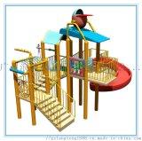 高人氣遊樂場所少不了兒童水屋,廣州浪騰專業設計生產水上樂園設備水屋水寨