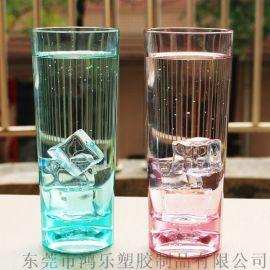 东莞鸿乐塑料杯厂家直销冷热饮塑料杯15oz塑料水杯