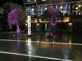 地面鋪裝LED發光燈管,發光地磚廠商