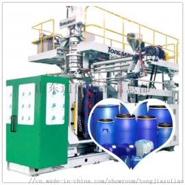双环桶生产设备法兰桶生产线制造全自动吹塑机公司