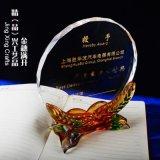 水晶琉璃奖杯 企业高管经理人纪念奖杯定制