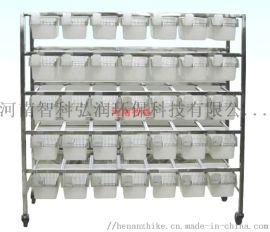 304不锈钢鼠笼架 悬挂式小鼠笼架70笼