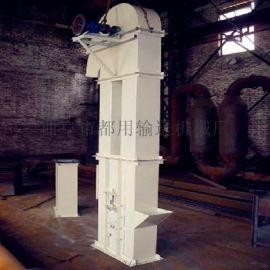 钢斗板链提升机定制 水泥粉垂直输送机