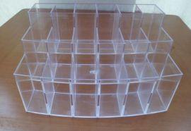 透明PS笔架 塑料展示架  注塑成型展示架