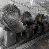 燃气加热自动出料卤煮锅 电磁加热炒锅 蒸煮锅