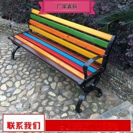 户外休闲座椅品质优良 实木长条座椅组合生产厂