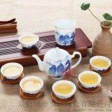 青花瓷禮品茶具 景德鎮手繪禮品茶具