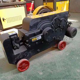 全自动钢筋切断机 工程螺纹钢剪断机 建筑钢筋切断机