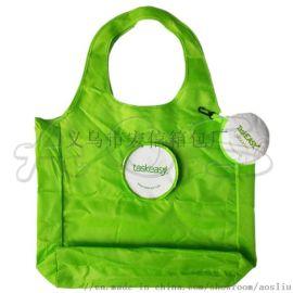 折叠卡通购物袋定做 拉链环保购物袋 折叠袋子