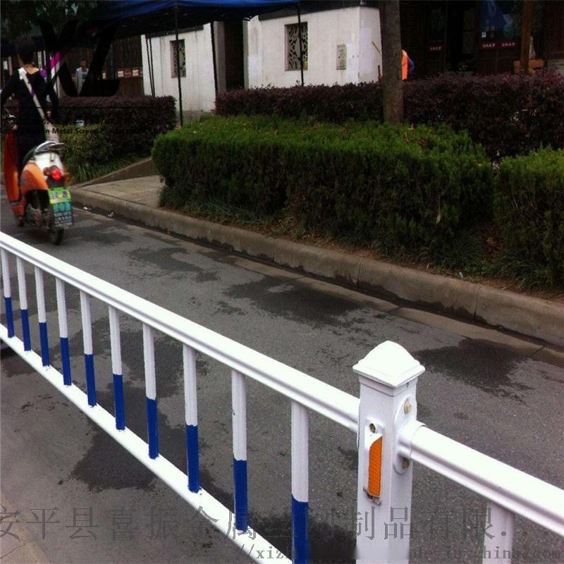 商场道路护栏、道路中心隔离护栏、马路中心护栏厂家