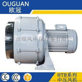 3.7KW透浦式中压鼓风机 HTB多段式中压风机