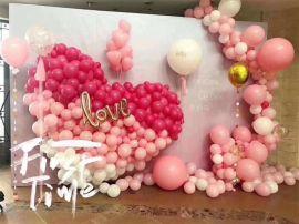 昆明花語花香、氣球婚禮、氣球婚房、氣球告白求婚