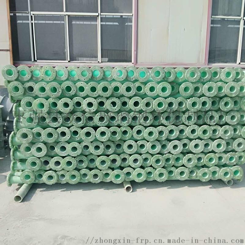 现货供应玻璃钢扬程管 玻璃钢农田灌溉井管