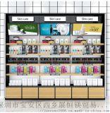 化妆品货架展示架背柜精品护肤品陈列架美容院产品