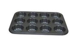 大小號6孔和12孔碳鋼梅花蛋糕模 (TR-FF08-TR-FF11 & TR-FF09)