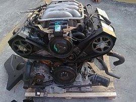 奥迪A6发动机总成汽车配件拆车件