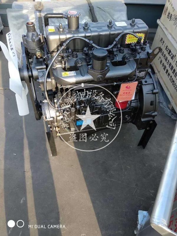 防爆柴油機四缸柴油機散裝水泥罐車用發動機2200轉離合器柴油機組