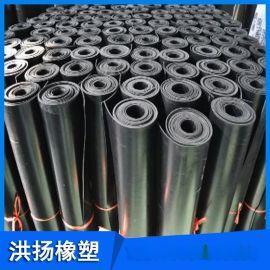供應 抗老化三元乙丙橡膠板 耐酸鹼橡膠板 耐磨耐腐蝕黑色橡膠板