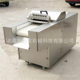 新款全自动剁鸡块机 切鸡鸭鱼切块机 厂家直销多功能切肉机