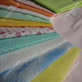 新价供应多种全棉水刺无纺布_定制涤纶粘胶混纺水刺布生产厂家