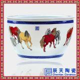 批发定做陶瓷大缸 商务礼品馈赠大缸 景德镇陶瓷生产厂家