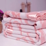 厂家供应双面绒真丝毛毯 专柜正品100%桑蚕丝 厂家加工贴牌