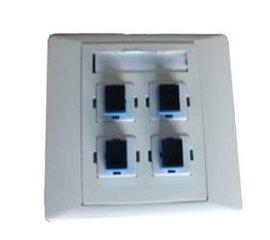 86型1口-4口光纤信息面板-综合布线产品