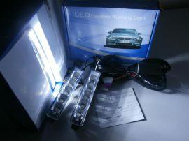 直接接电瓶大功率高亮度五珠通用LED日行灯A05B(带耳)