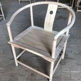 厂家直销新中式圈椅古典老榆木茶道圆圈椅