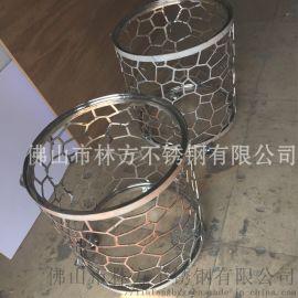 佛山优质定制不锈钢酒店制品   酒店茶几  装饰品