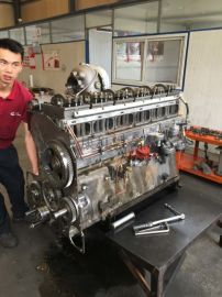 康明斯QST30发动机大修 北重TR100矿车