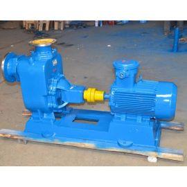 供应上海江鹿泵业ZW型卧式全自动不锈钢自吸排污泵 一体式耐酸碱 质量可靠