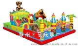 巢湖广场小孩子玩的充气蹦蹦床多少钱 安徽50平方米充气城堡现货