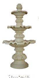 人造砂岩喷泉/砂岩艺术雕塑/砂岩雕花喷泉/园林装饰流水钵
