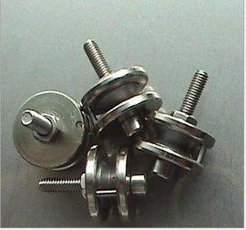 厂家长期供应【不锈钢材质304金属导线轮】,【防水耐腐蚀金属导线轮】,高速导线轮,