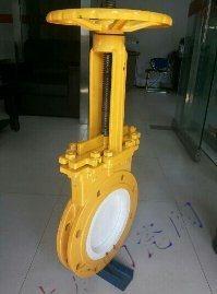 薄型陶瓷排渣浆液阀PZ73TC  耐磨陶瓷单板阀  陶瓷刀闸阀