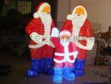 廠家定製亞克力拉絲造型燈,聖誕老人造型燈,亞克力造型燈
