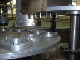 旋转式纸(塑)杯子灌装封口机