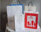 牛皮纸提纸质购物袋 手提纸袋 手提纸袋超市购物袋
